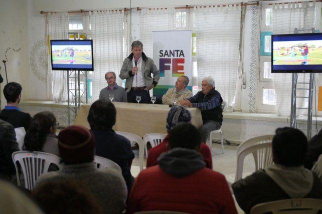 Firmaron un convenio para crear un Centro de Cuidado Infantil en Santa Rosa de Lima