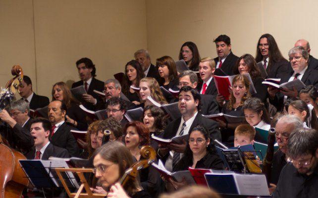 El Coro Polifónico Provincial realizará un concierto en la ciudad de Santa Fe