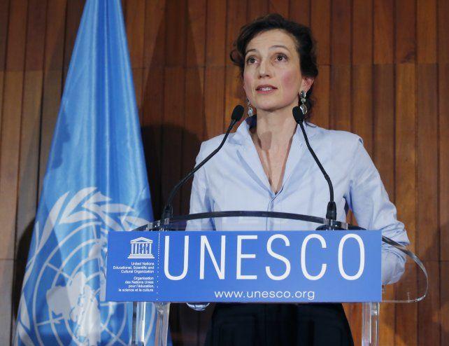 Audrey Azoulay. La exministra de Cultura de Francia fue electa hoy para presidir la Unesco.
