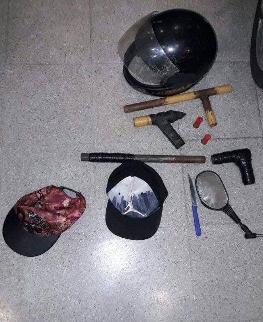 Le robaron la moto a un trabajador, fueron perseguidos y arrestados por la Policía