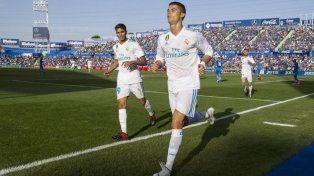 Cristiano Ronaldo salvó al Real sobre la hora