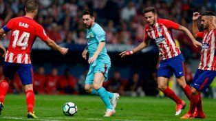 Barcelona rescató un punto ante el Atlético de Madrid