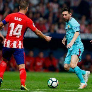 barcelona rescato un punto ante el atletico de madrid