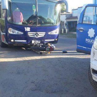 violento choque dejo un motociclista muerto y otro herido en la ciudad de recreo