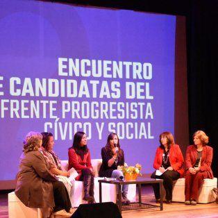 las mujeres progresistas expusieron su agenda