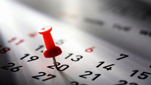 Cuántos feriados largos quedan en 2017
