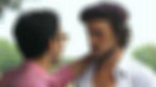 que actor confeso que es mas facil besar a un hombre que a una mujer en ficcion