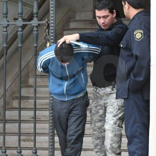 El acusado. Desde ayer se dispuso que sea alojado en un establecimiento penitenciario hasta que llegue el juicio.