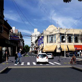 proponen un reordenamiento integral de calle mendoza