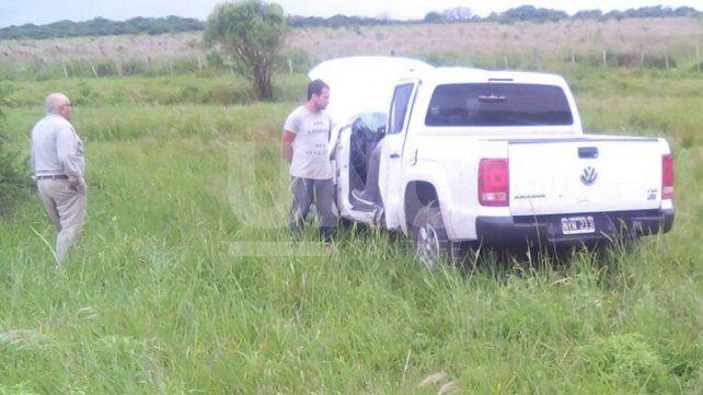 El jefe de la UR XIV de Policía de San Javier fue protagonista de un despiste y vuelco