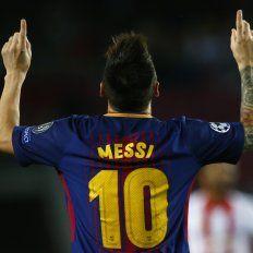 Con este golazo, Messi llegó a los 100 goles en Europa