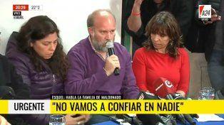 Sergio Maldonado: No podemos confirmar si es el cuerpo de Santiago