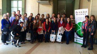 Becarios de la Fundación Banco  Santa Fe expusieron sus proyectos