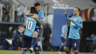 ¡Sonríe Sampaoli! Rigoni metió tres goles en la victoria del Zenit