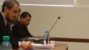 El acusado. Leandro Leo Ochoa, el joven de 27 años juzgado en el tribunal provincial.