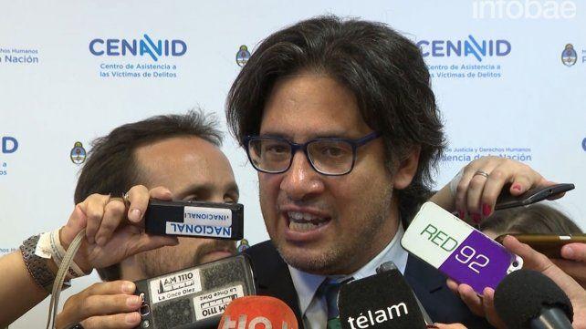 Garavano: Que no haya lesiones en el cuerpo abre otras hipótesis de lo que pudo haber pasado con Santiago