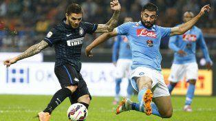 Italia: Napoli-Inter acapara la atención del Calcio