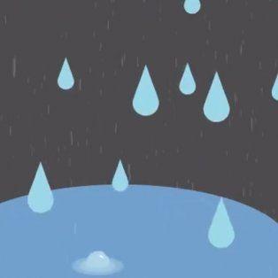 ¿sera verdad?: burbujas en los charcos, lluvia para rato