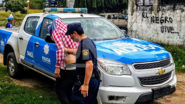 Cinematográfica persecución con tres delincuentes presos que protagonizaron un raid delictivo