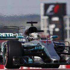 Otra pole de Hamilton para largar primero en Estados Unidos