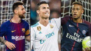 Cristiano, favorito sobre Messi y Neymar para ser el mejor de la FIFA