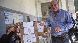 Niky Cantard votó con muy buenas expectativas