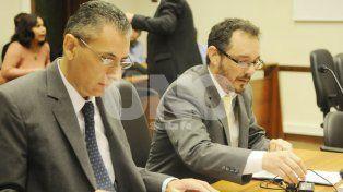 Los dos. Daniel Filippi y Omar De Pedro serán quienes acusen a los imputados.