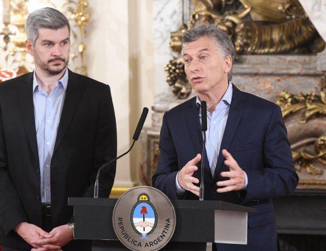 Macri dijo hoy que la Argentina no tiene que tener miedo a las reformas