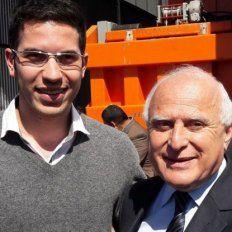 Con 21 años, se convirtió en el presidente comunal más joven de la provincia