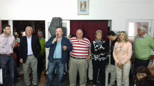 San Cristóbal: el senador Felipe Michlig destacó el respaldo a los candidatos del Frente Progresista