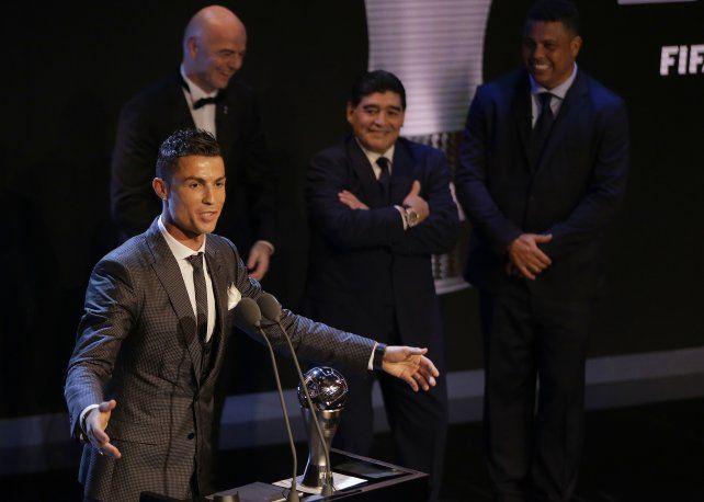 Cristiano Ronaldo sigue siendo el The Best