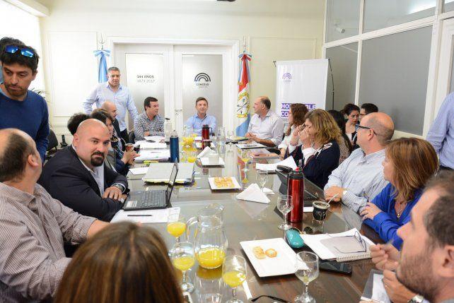 Iniciativas comunitarias: tensa y larga reunión entre Medrano y los concejales