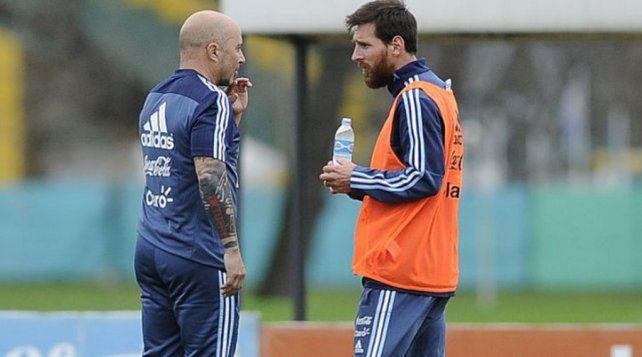 Las preferencias de Messi y Sampaoli