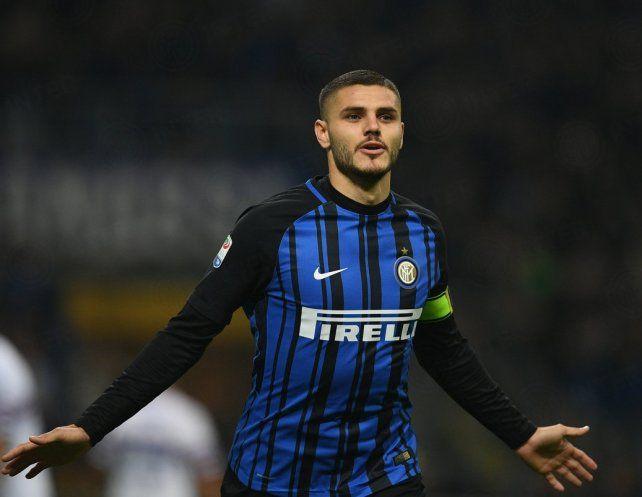 Inter llegó a la punta de la mano de Icardi