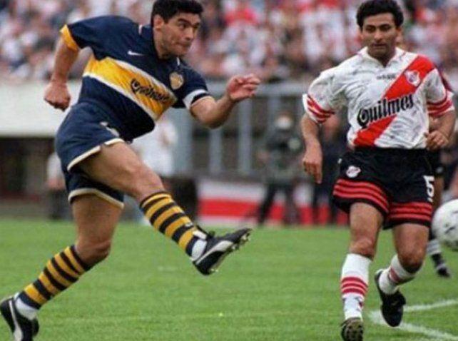 A 20 años del retiro de Diego Maradona