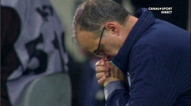 Bielsa tuvo que rezar para que el Lille avance de fase en la Copa de Liga