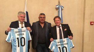 Chiqui Tapia se reunirá con el embajador de Rusia tras la amenaza del ISIS a Lionel Messi