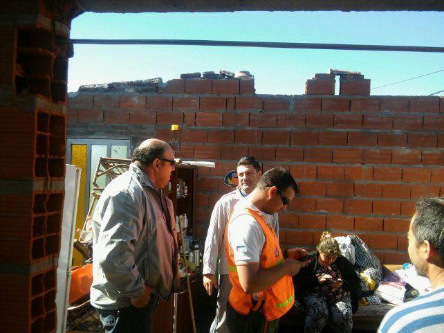Elortondo y Melincué son las localidades más afectadas por la tormenta