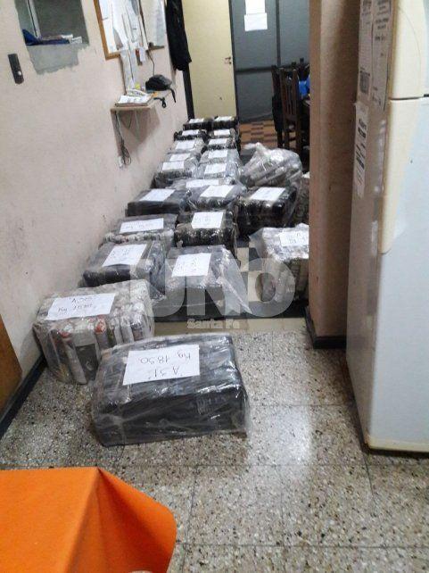 Secuestraron 746 kilos de hojas de coca durante un procedimiento en Las Colonias