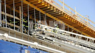 Dieron el alta médica a diez obreros accidentados en el nuevo edificio de Tribunales
