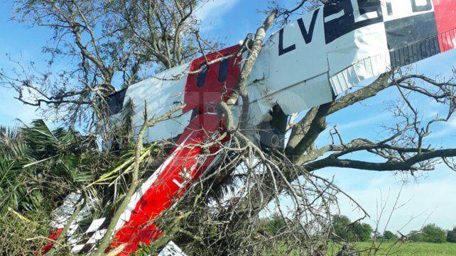 Tragedia en Esperanza: murió un piloto al caer un avión esta madrugada