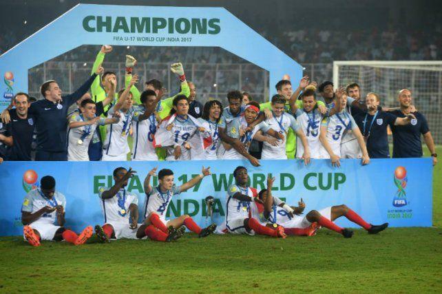 Inglaterra es el nuevo campeón mundial Sub 17