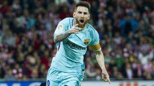 Messi abrió el camino para el triunfo del Barcelona
