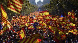 Movilizados. Miles de personas marcharon a favor de la unidad. Foto: Télam.