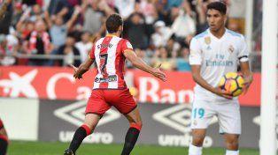 Girona dio el batacazo al derrotar a Real Madrid