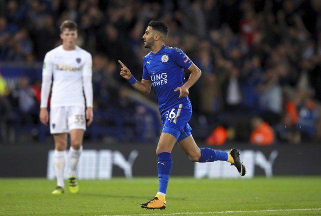 Leicester superó a Everton y crece en la Premier League