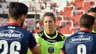 La Gringa Trucco hará historia en el arbitraje argentino