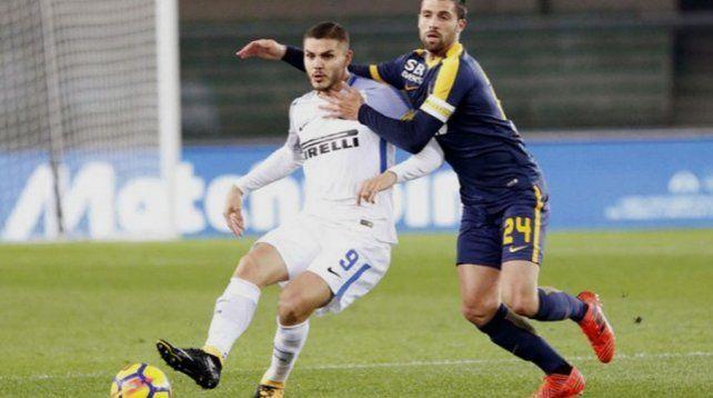 El Inter ganó pero Icardi no marcó
