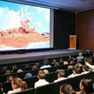 cortometrajes realizados por alumnos santafesinos se exhibieron en el auditorio federal