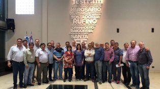 Unidad. Los representantes de los trabajadores en la sede de Festram (Archivo 2017)